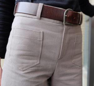 Une Année de Couture - tissu Gabardine Driftwood - Pantalon Gaston, République du Chiffon