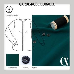 Garde-Robe Durable_Chemise_Femme