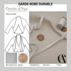 Garde-Robe Durable_Veste_Femme